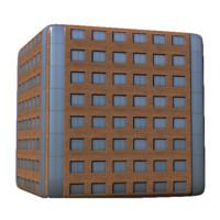 Brick Distance Building