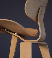eames molded plywood lounge chair max