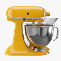 artisan kitchen mixer 3d max