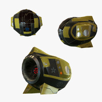 3d drone 1 model