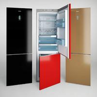3d bosch refrigerator freezer
