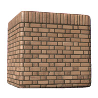 Brick Wall with Top Detail