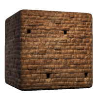 Brick with Drain Holes
