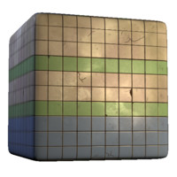 Large Colored Tiles