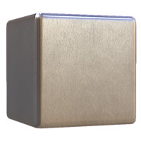 Brushed Steel Fine Grain Metal