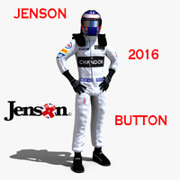 3d c4d jenson button 2016