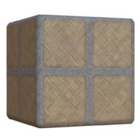 Celtic Wood and Stone Floor