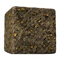 Roman Brick Cobblestone Leafy