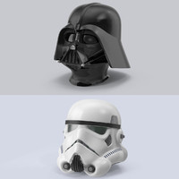 max star wars helmet set