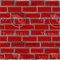 red brick wall tiling