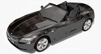 3d bmw z4 2009 roadster