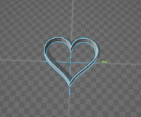 cookie cutter 3d model