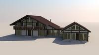 3ds house fachwerk