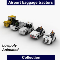 3d airport baggage