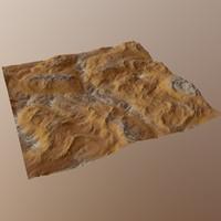 hills cliffs terrain max