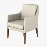 3d flexform pat chair model