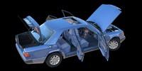 mercedes-benz w124 300d 1992 blend