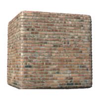Modern Glossed Bricks