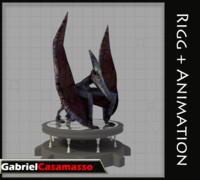 pterodactyl pterodactylus 3d x
