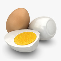 max realistic boiled egg