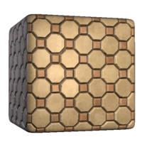 Octagon Concrete Bricks