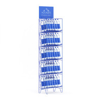 3d supermarket rack water bottles
