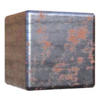 Rusty Machined Metal