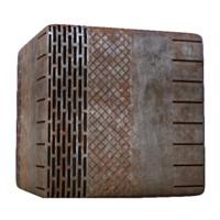 Rusty Metal Construction Kit D