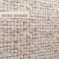 3d stone mosaic marble model