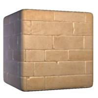 Sandy stone Brick