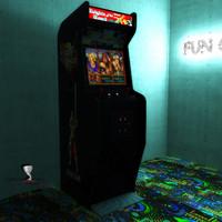 classical arcade knights 3d max