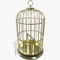 birdcage modelled 3d model