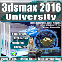 3ds max 2016 University Subscription 2 Computer
