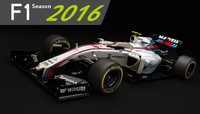 F1 Williams Martini Racing FW38 2016