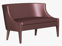 3d koket chignon sofa model