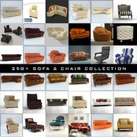 250 sofa chair 3d max