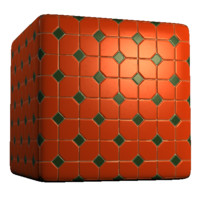 Diamond and Square Color Tiles 2