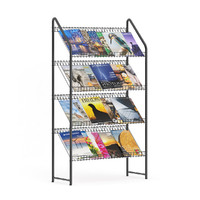 3d model of supermarket stand magazines
