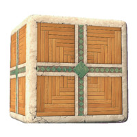 Fantasy dwarf wood And Stone Tile Dirty