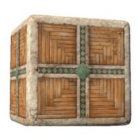 Fantasy dwarf wood And Stone Tile