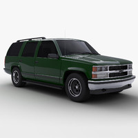 chevrolet tahoe 3d model