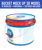 3d c4d bucket contains