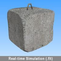 3d model real-time openflight flt