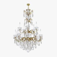 3d model chandelier schonbek