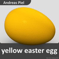 c4d egg yellow