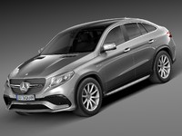 3d model mercedes benz gle