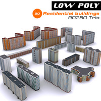 20 residential buildings max