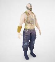3d model bane