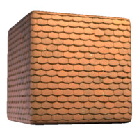 Grooved Roof Tile