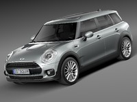 3d model hq mini clubman